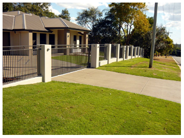 All style fencing ipswich brisbane servicing the home and for Pool fence design qld